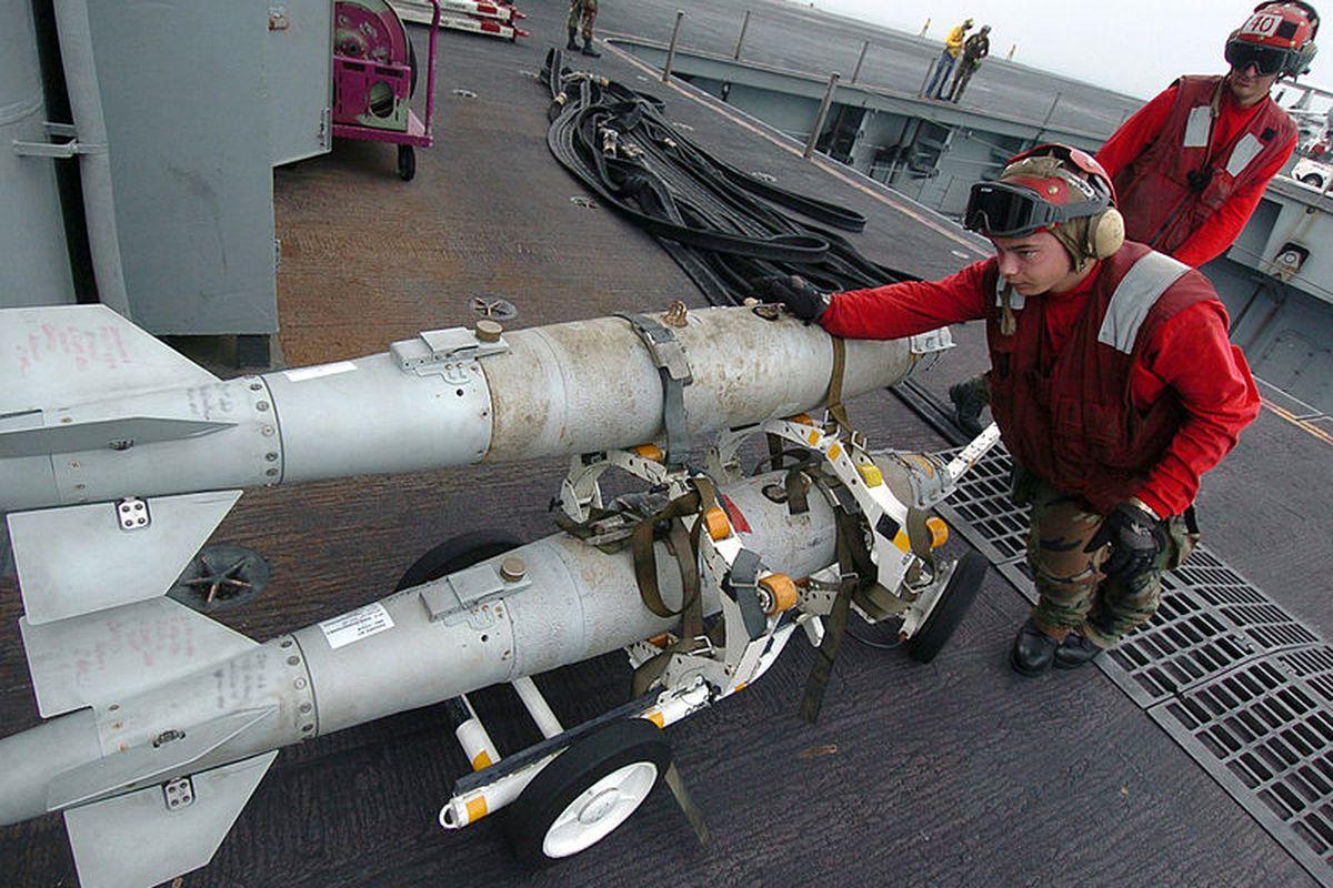 navy bomb (wikimedia commons)