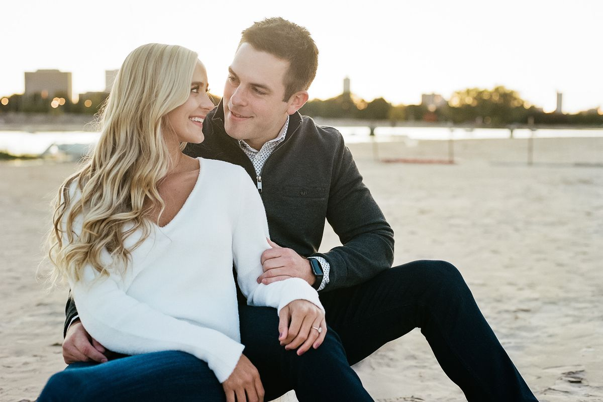 Jenna Heide and Ryan Penders of Naperville had planned to get married at the end of March at Chicago's Old Post Office. The spread of the coronavirus has forced them to postpone that celebration.