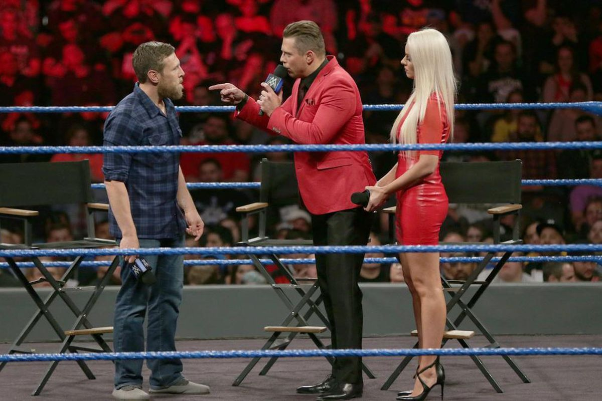 The Miz Wanted A Surprise Opponent For WWE Summerslam 2020 2