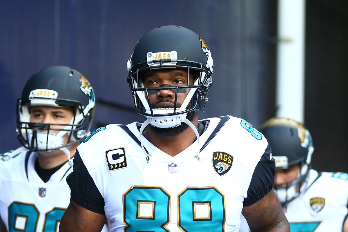 NFL free agency 2018  Should the Carolina Panthers pursue tight end  Marcedes Lewis  678e1dd1d