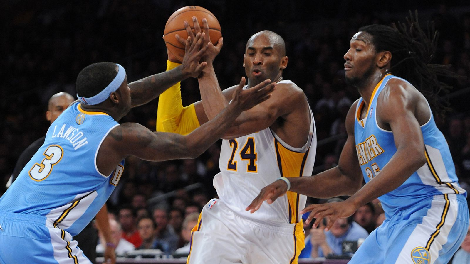 Lakers vs. Nuggets preview: Kobe Bryant returns to Denver for the final time this season ...