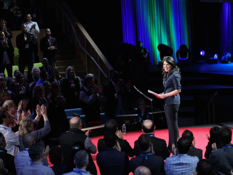 Monica Lewinsky received a standing ovation after her TED Talk about cyberbullying.