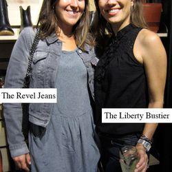 L to R: Kelly Moss, Levi's Global Marketing; Julia Bois, Levi's Global Marketing