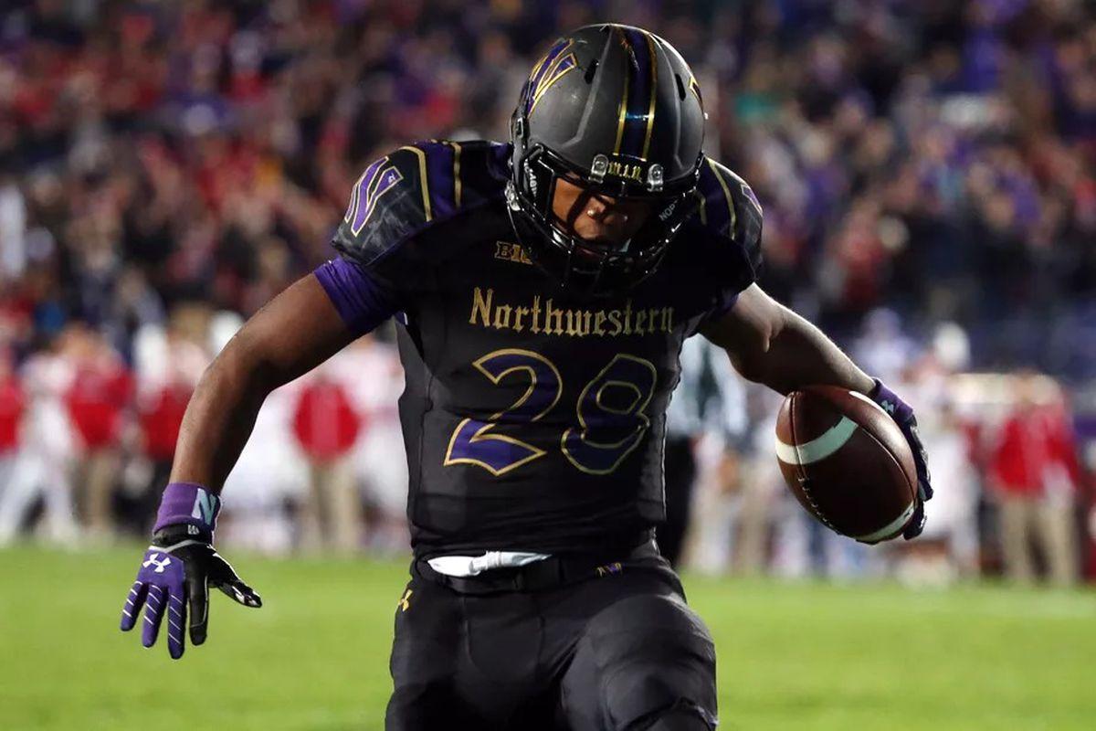 Northwestern football to wear gothic uniforms Friday night against Ohio State