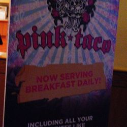 A sign in front of Mr. Lucky's sent guests to Pink Taco, which stayed open 24 hours to accommodate the renovation.