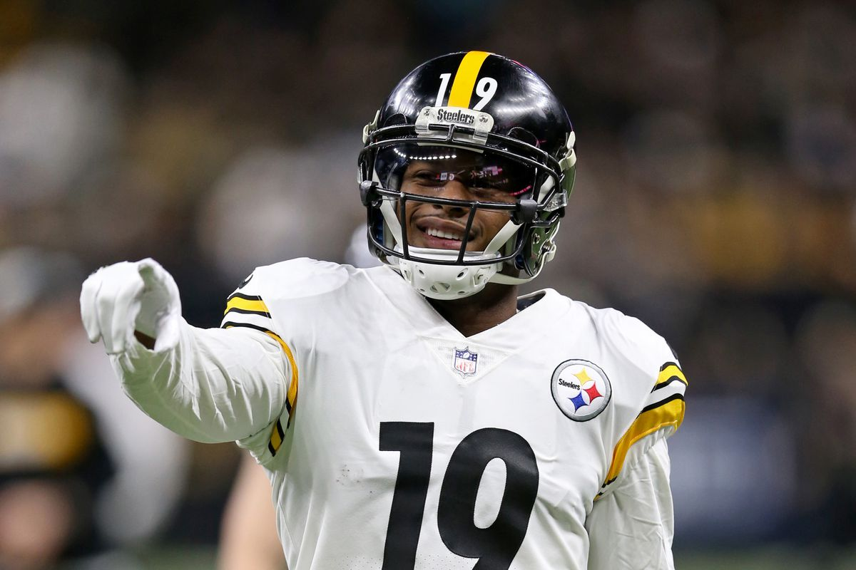 b3f58dce2 Steelers News  JuJu Smith-Schuster preparing for No. 1 wide receiver role
