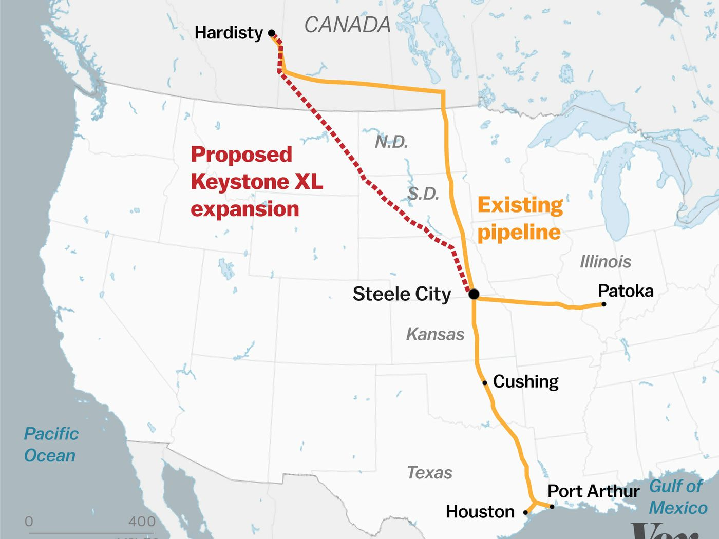 Trump is greenlighting the Keystone XL pipeline — but there are ...