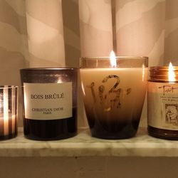 I had no idea having your hair dyed could be so exhausting. <b>Whittemore</b> makes their own fragrance that they pump through the air vents—cool, right? They sell it in candle form, so I took one home to add to my collection. The other candles pictured a