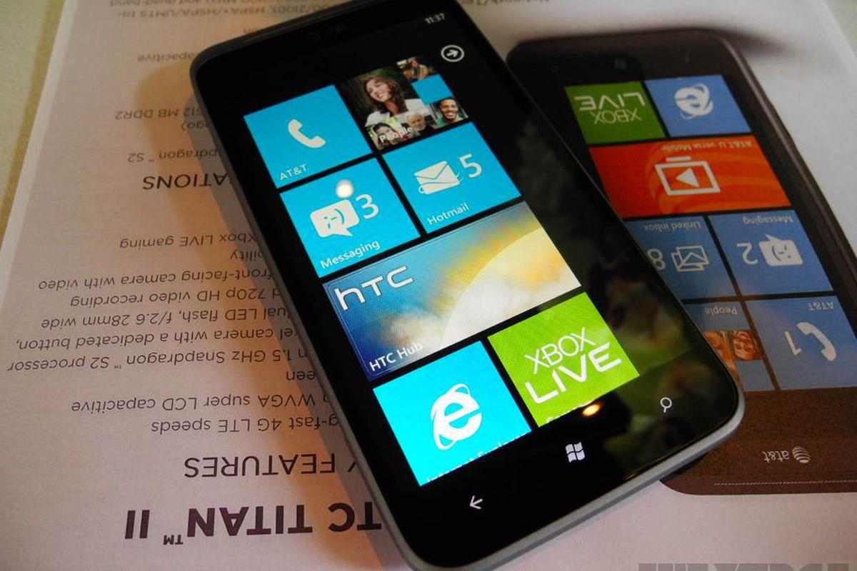 HTC Titan II hands-on