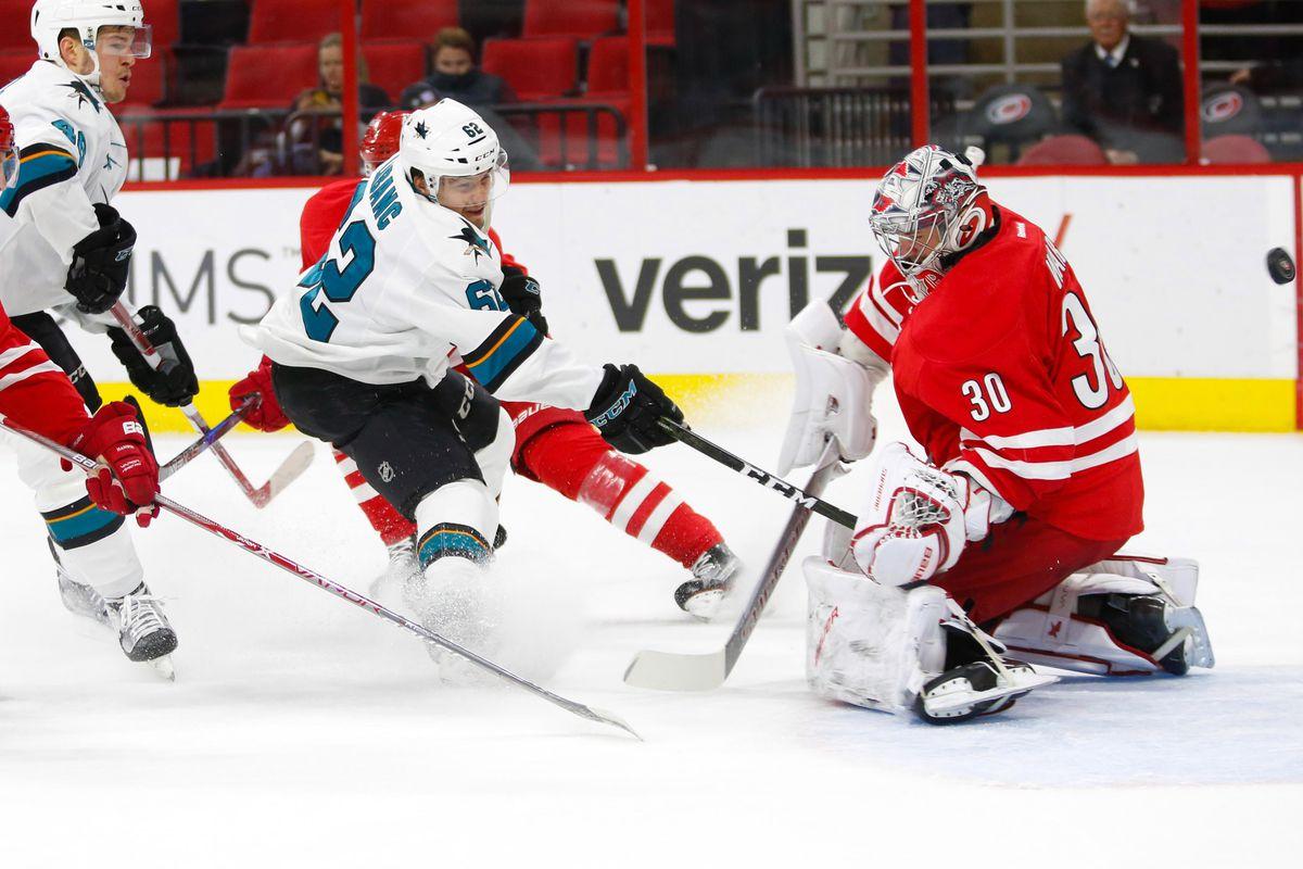 NHL: San Jose Sharks at Carolina Hurricanes