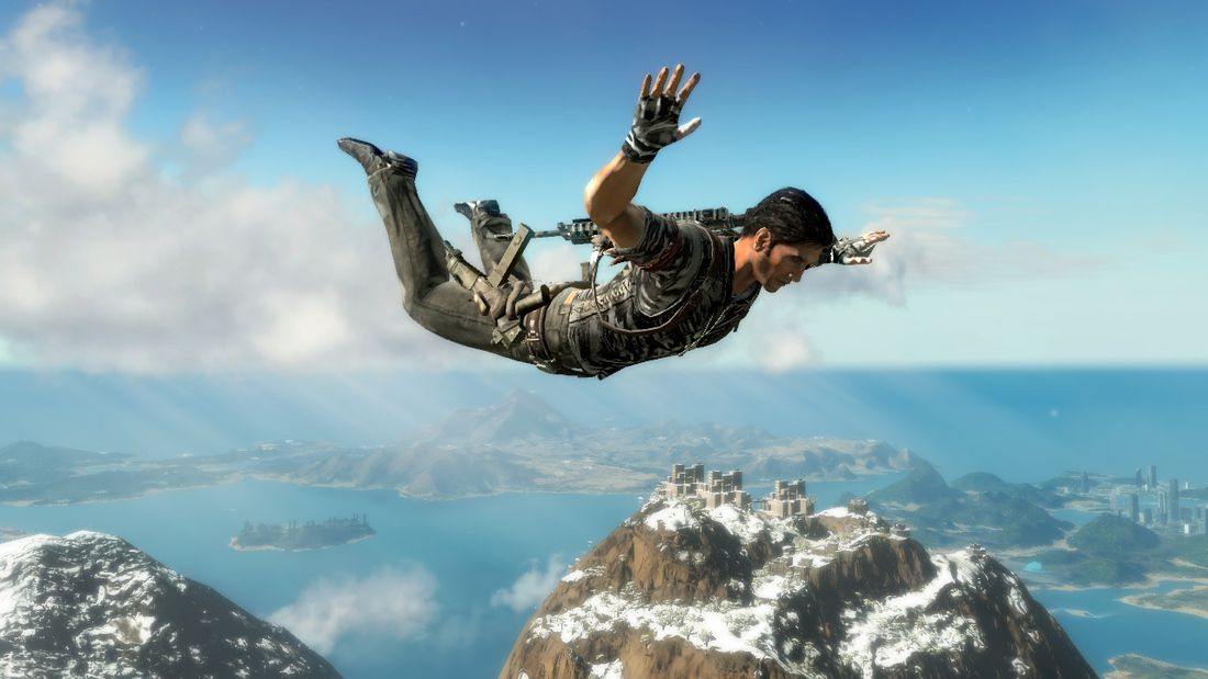 Just Cause 2 - Rico dropping in