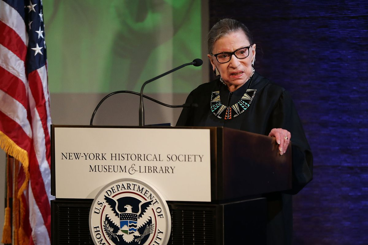 Ruth Bader Ginsburg's incredible ability to bounce back - Vox