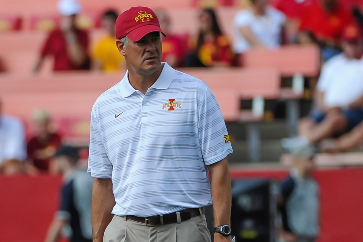 Remember when everyone was worried Paul Rhoads would take the job at Pitt? Good times.