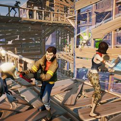 epic games 39 fortnite will be the developer 39 s first unreal engine 4 game polygon. Black Bedroom Furniture Sets. Home Design Ideas