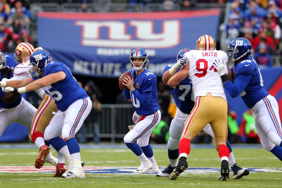 05cc559f5 Giants vs. 49ers 2015, Week 5: When the Giants have the ball - Big ...