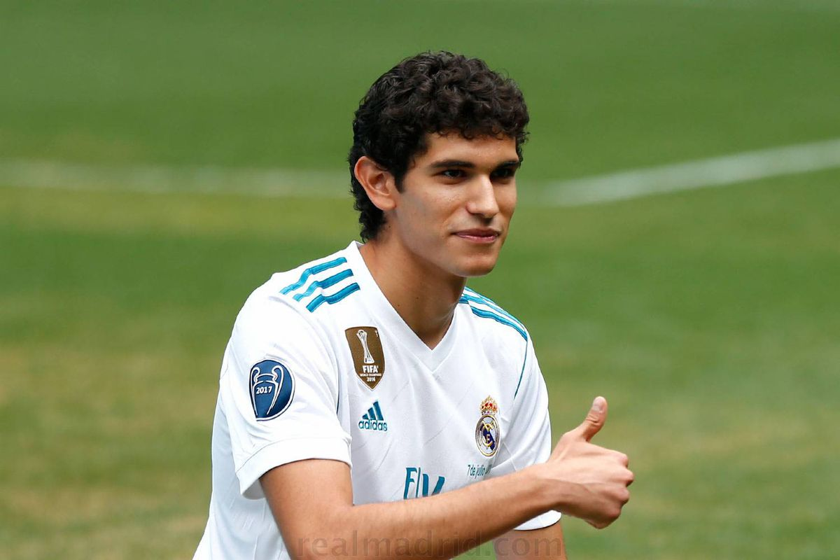 jesús vallejo officially presented as a real madrid player