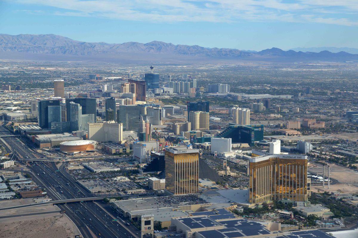 NCAA Basketball: Las Vegas Views