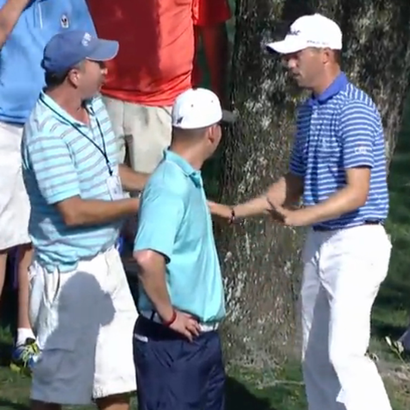 PGA Tour pro attempts driver off the deck and shanks one into a fan -  SBNation.com 1ef84f7fb6f