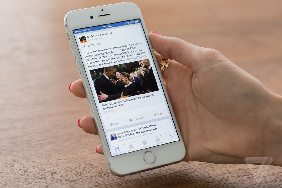 Facebook redesigns Trending Topics on mobile to show more news sources