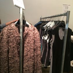 Left: Mohair cape, $395 (from $1,990)