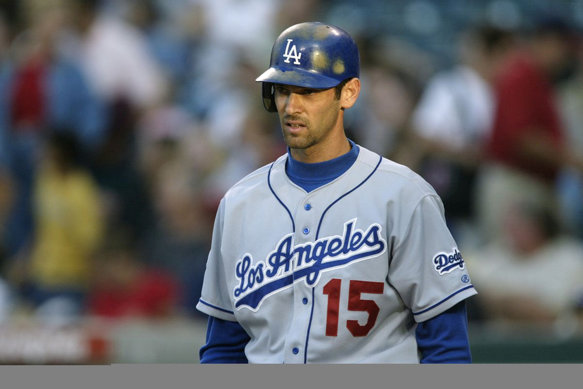 Shawn Green was locked in starting with a series in Milwaukee in 2002. (<em>Getty Images</em>)
