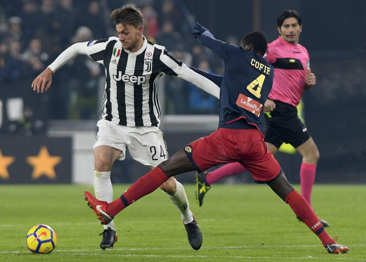 2017 Coppa Italia Football Juventus v Genoa Dec 20th