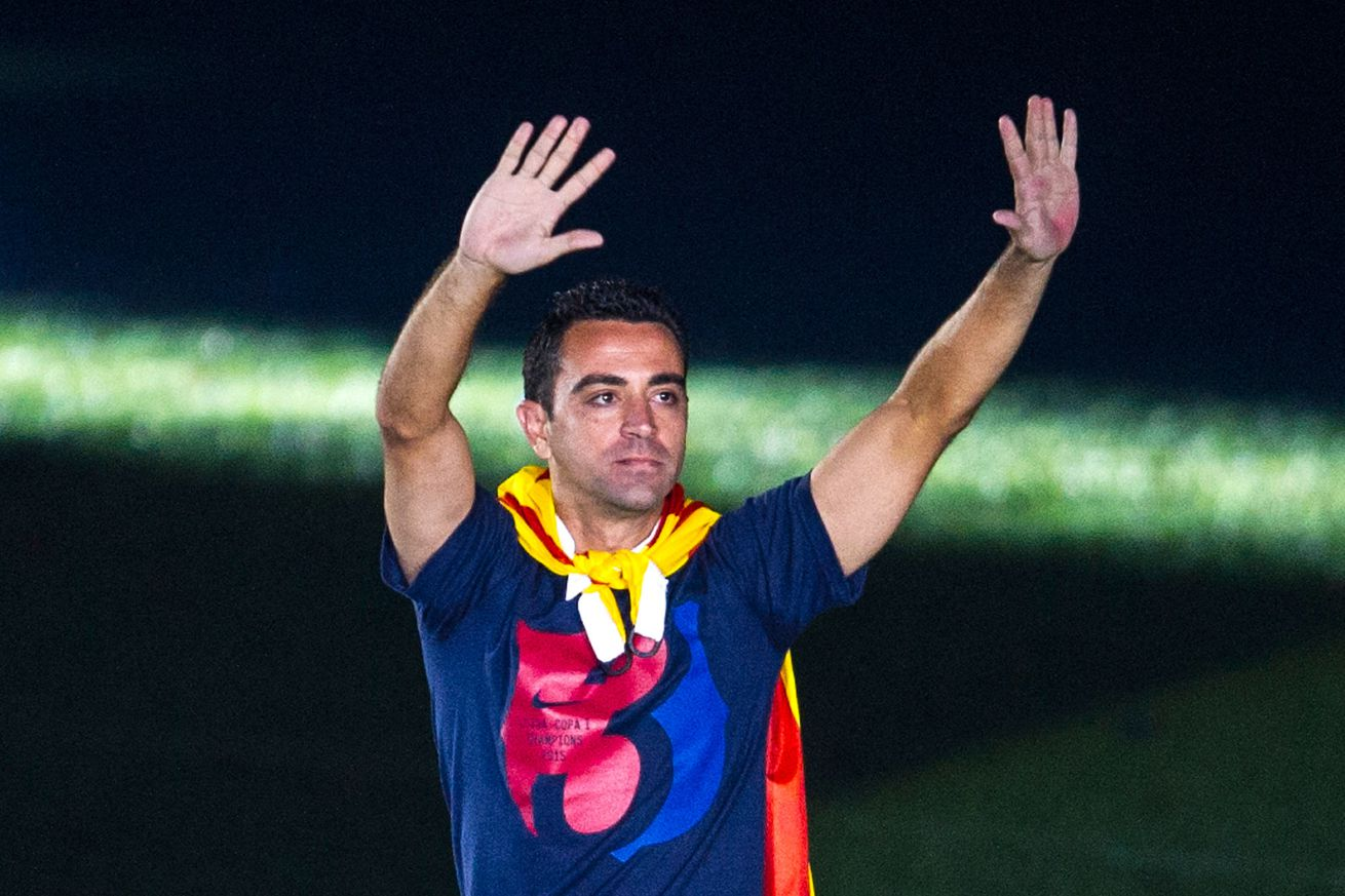 Xavi confirms he'll retire at the end of the season