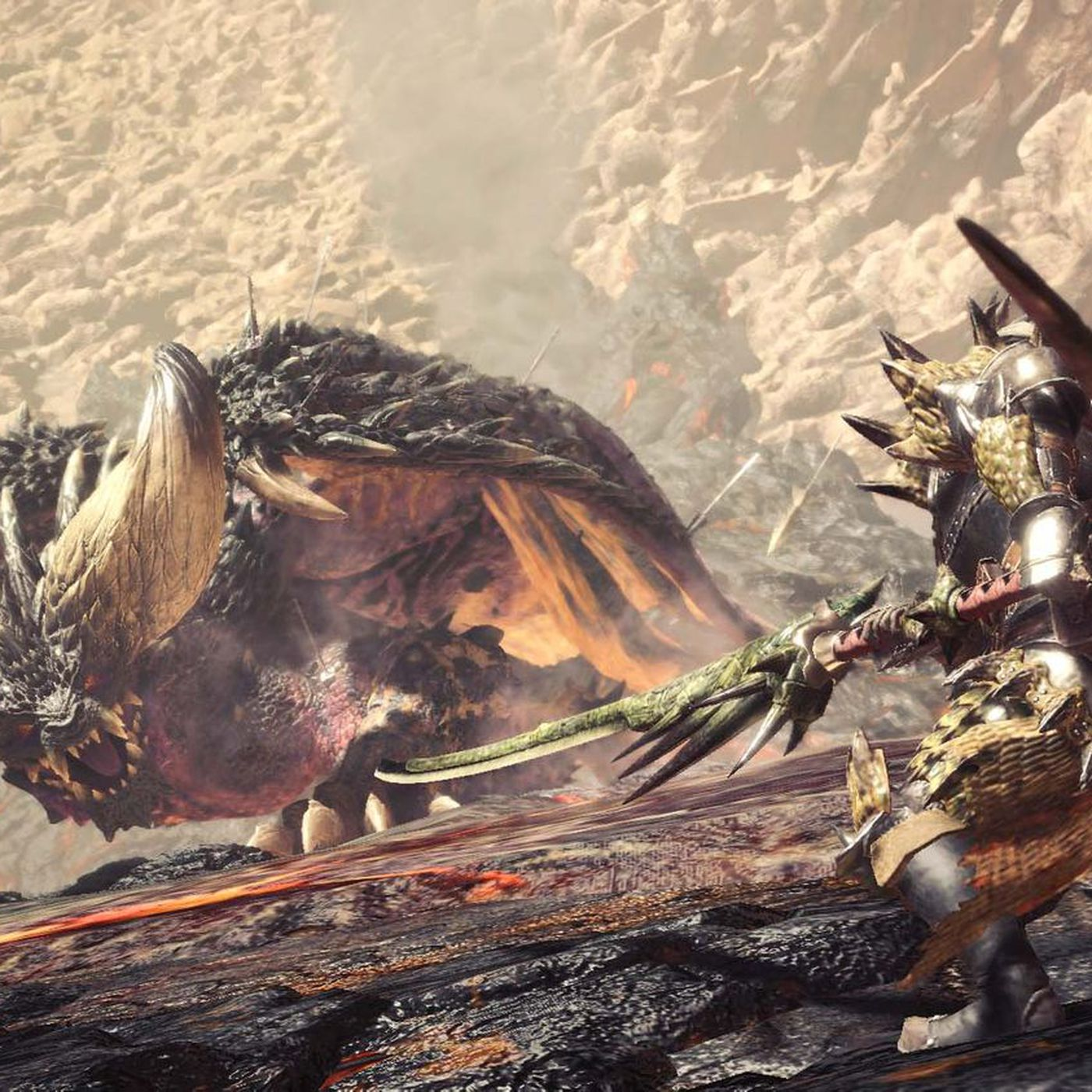 Monster Hunter World Review King Of Beasts The Verge