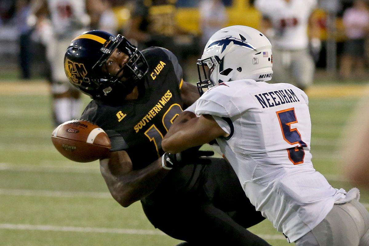 NCAA Football: Texas El Paso at Southern Mississippi