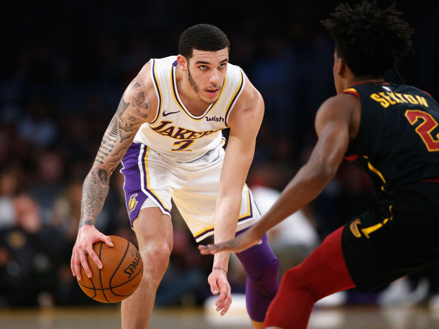 11f1fe6ea6e Lakers Trade Rumors  Lonzo Ball would rather the Lakers trade him to  another team besides Pelicans if Anthony Davis talks heat up - Silver Screen  and Roll