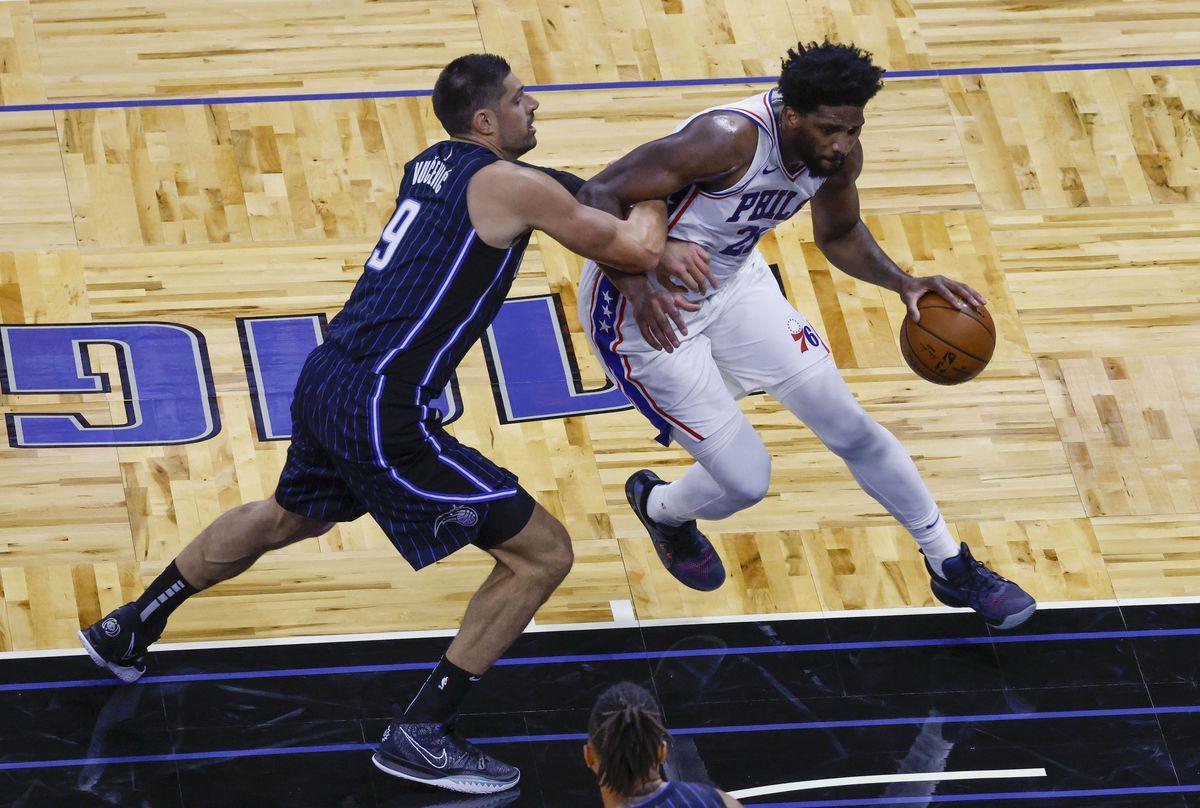 NBA: Philadelphia 76ers at Orlando Magic