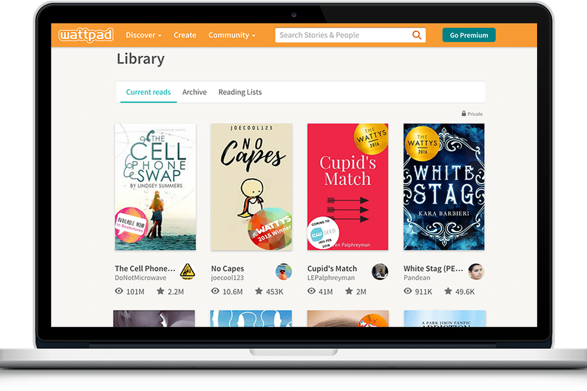 Digital publishing site Wattpad is partnering with Sony to adapt ...