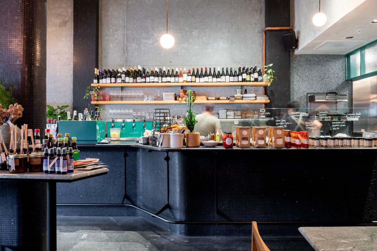 Kitchen at Anchovy Bar