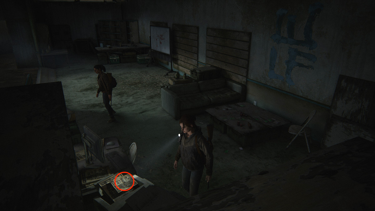 Join WLF Note Artifact collectible The Last of Us Part 2 Seattle Day 1 (Ellie)