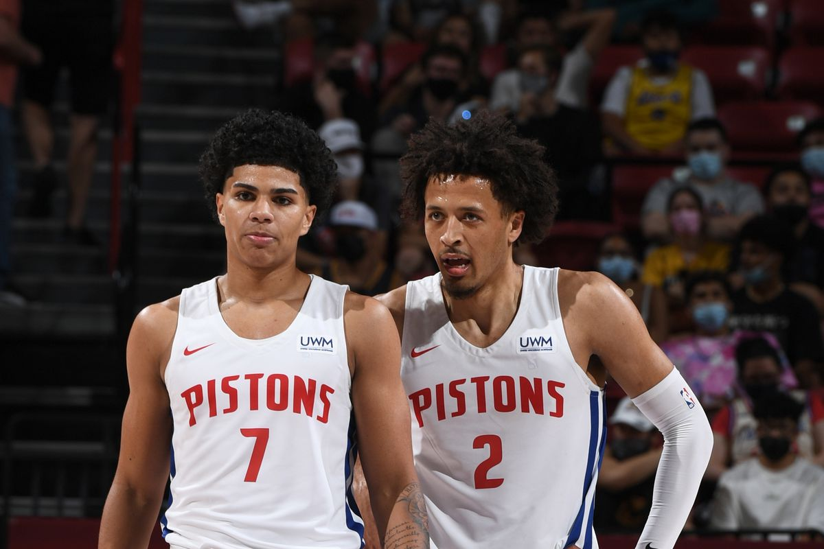 2021 Las Vegas Summer League - Oklahoma City Thunder v Detroit Pistons