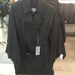 Trench coat, size S, $49 ($250)