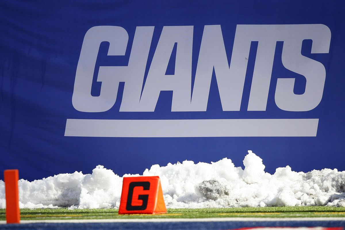 Could there be white stuff at MetLife Stadium Sunday?