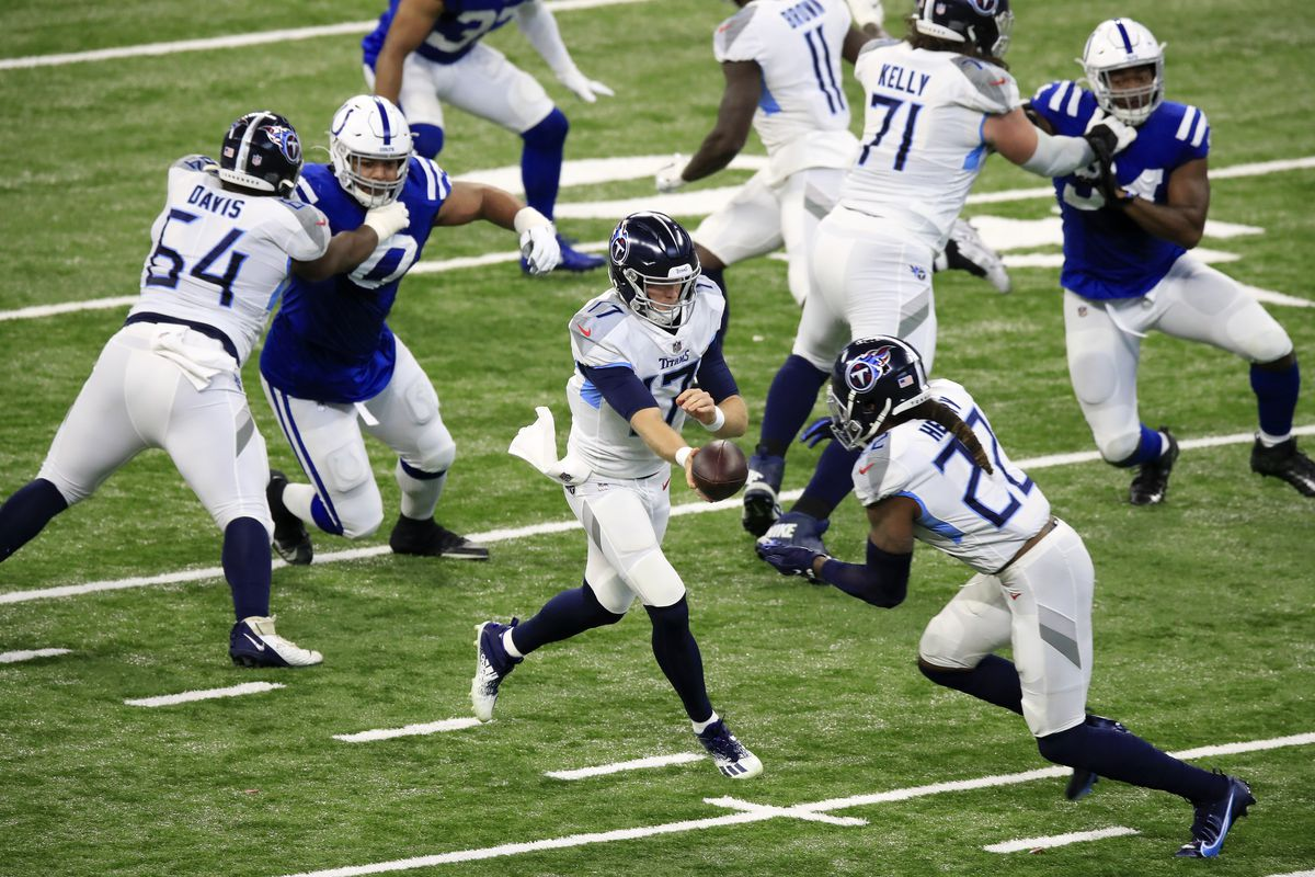 Colts News No Deforest Buckner No Chance To Stop Derrick Henry For Indianapolis Colts Stampede Blue