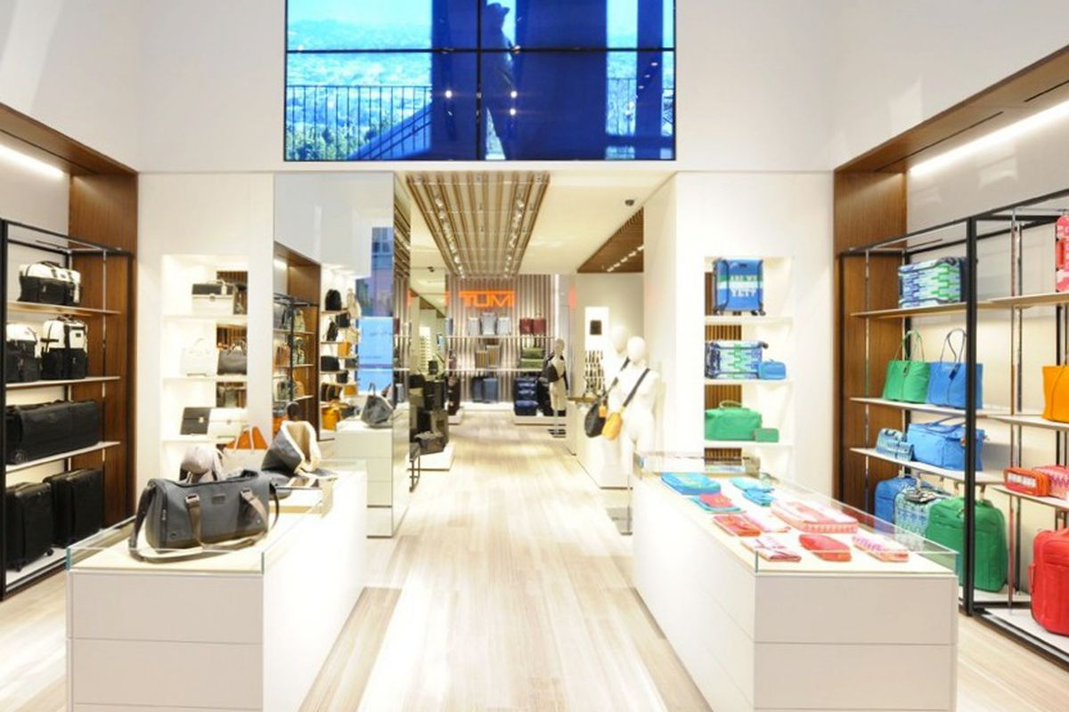 """Photo via <a href=""""http://www.wwd.com/retail-news/specialty-stores/tumi-opens-on-madison-ave-7230502?navSection=issues"""">WWD</a>"""