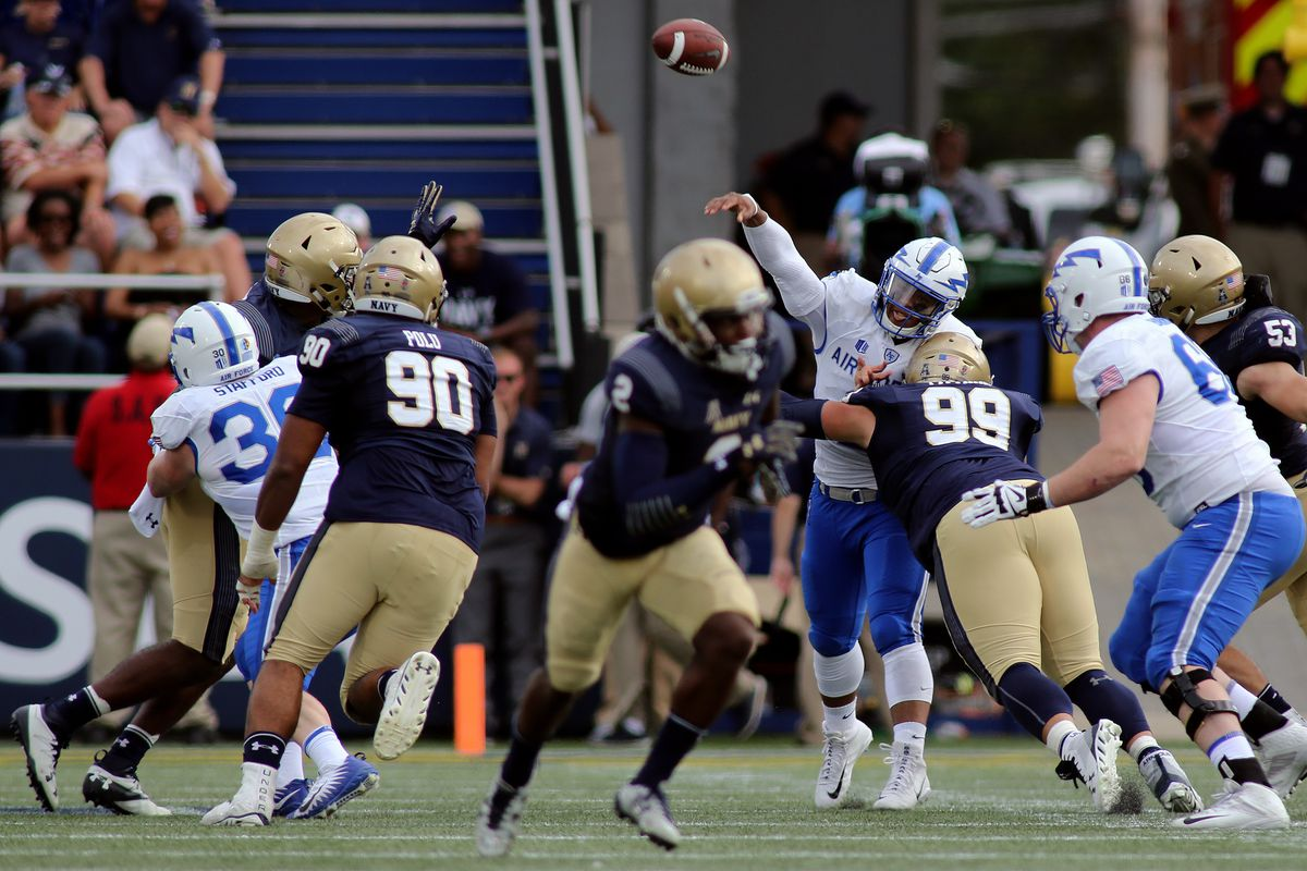 COLLEGE FOOTBALL: OCT 07 Air Force at Navy