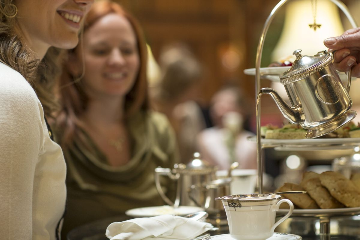 Tea Time at the Brown Palace