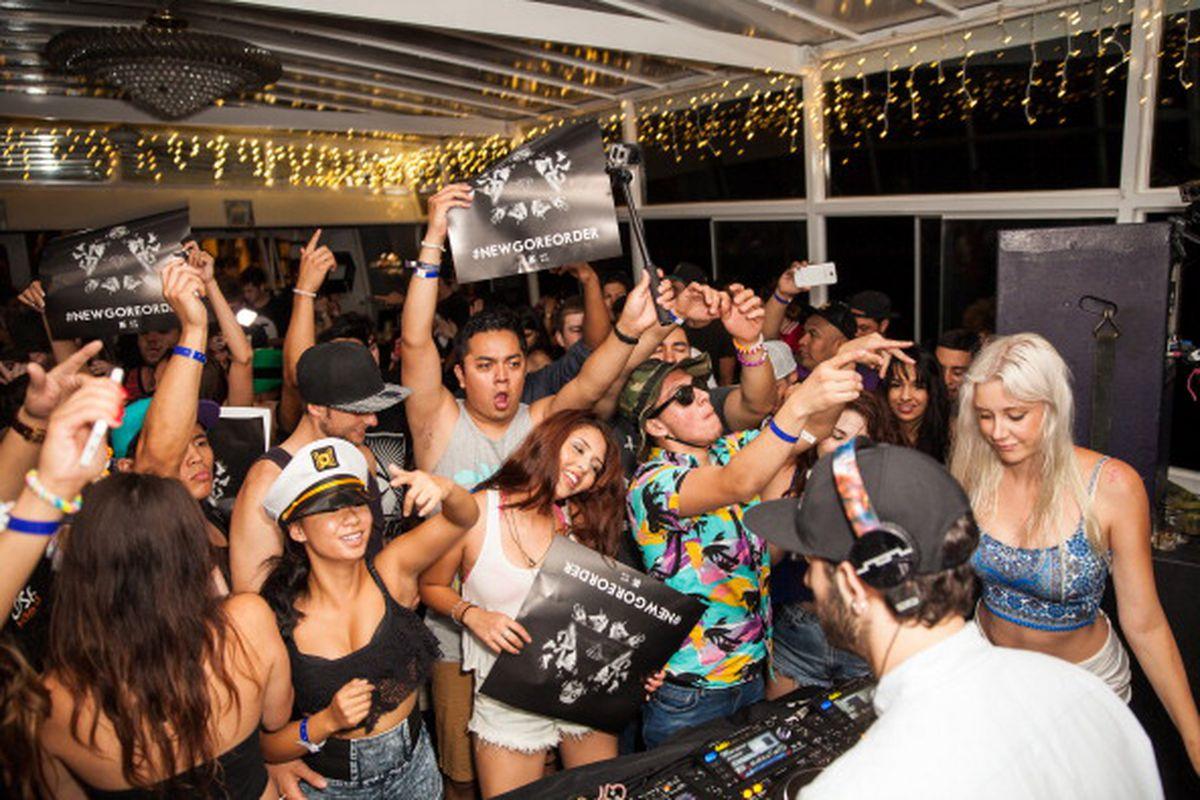A photo from Borgore's #NewGoreOrder Album Release Party