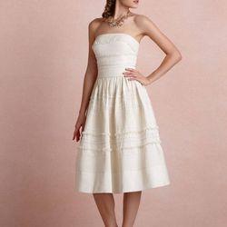 Strapless Garden Trim Dress: $100 (originally $600)