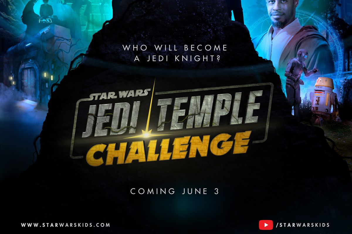 """""""Star Wars: Jedi Temple Challenge,"""" a trivia game show focused on the """"Star Wars"""" universe, will debut on the Star WarsKids YouTube channel. in June."""