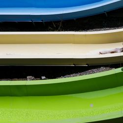 A woman slides down a slide at Seven Peaks Waterpark in Salt Lake City on Sunday, June 18, 2017. Pools and waterparks may be the place to be this week as temperatures are expected to approach 100 degrees along the Wasatch Front.