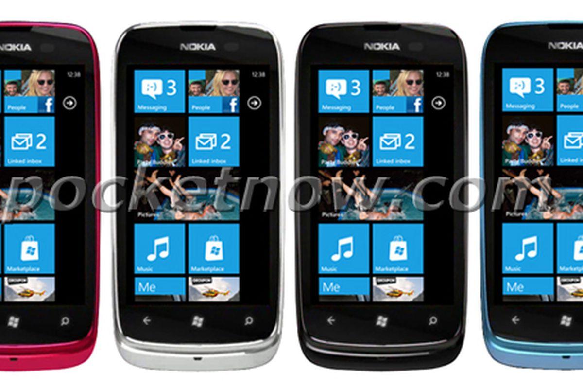 Nokia Lumia 610 leak