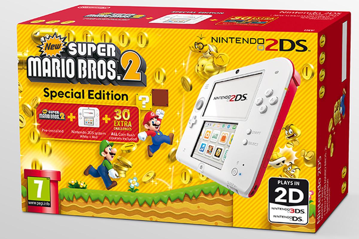 New Super Mario Bros 2 Special Edition Nintendo 2ds Bundle Hits