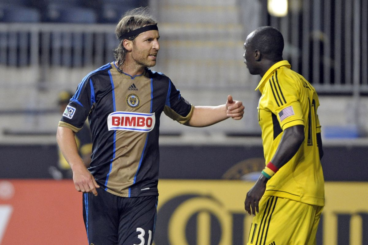 Can Sparkles' intensitivity carry the Union to the postseason?