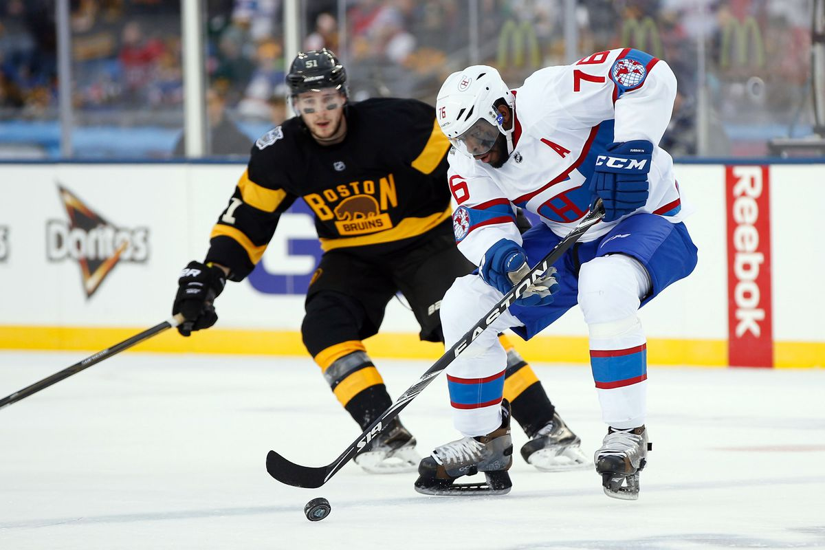 Now it will all just have been a bad dream (Ryan Spooner and Malcolm Subban's brother P.K.)