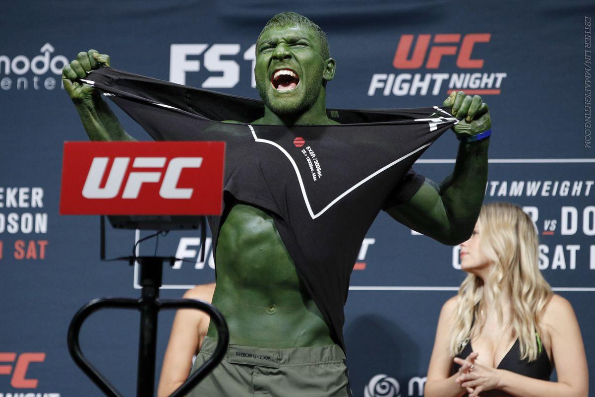 UFN Fight Night 96 Weigh-in Photos